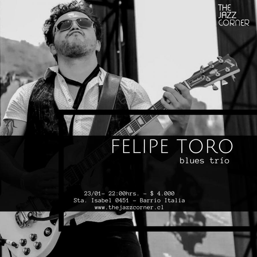 Felipe Toro Blues Trio