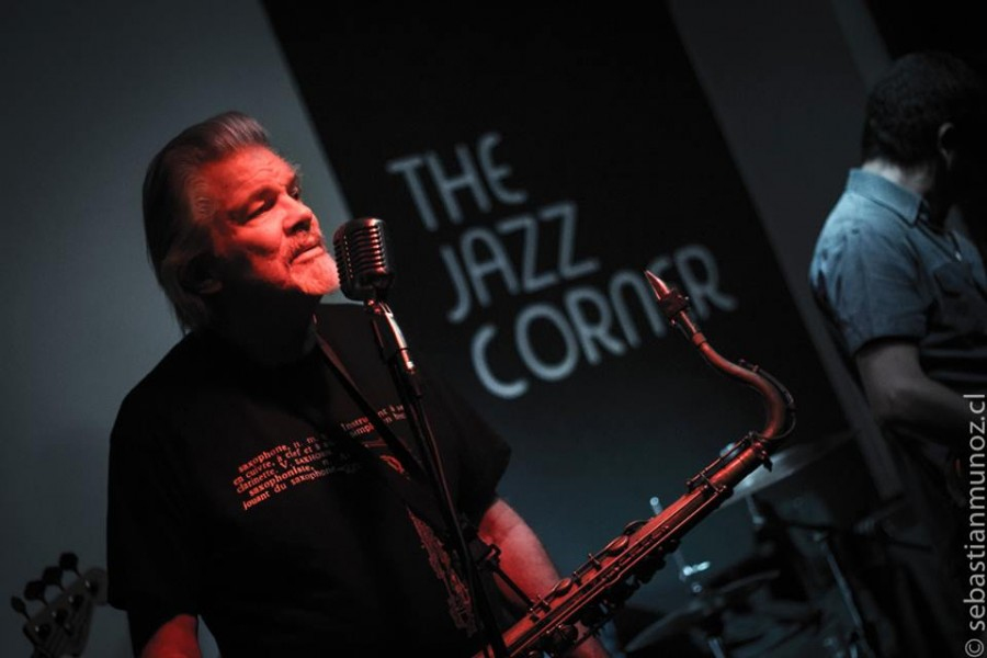 Terry Hanck desde California al Jazz Corner